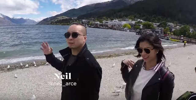 Never Before Seen Shots Of Angel And Neil In New Zealand!