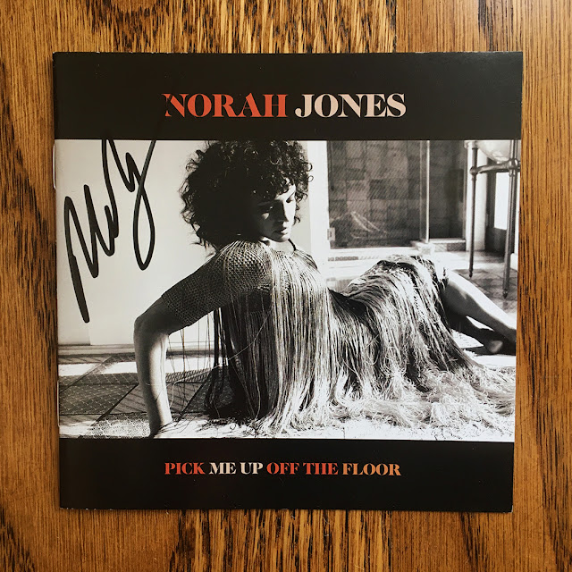 The Record Store presents Norah Jones and the vinyl and music video offerings for her album titled Pick Me Up Off The Floor - Exclusive Autographed Copy by #NorahJones #RecordStore