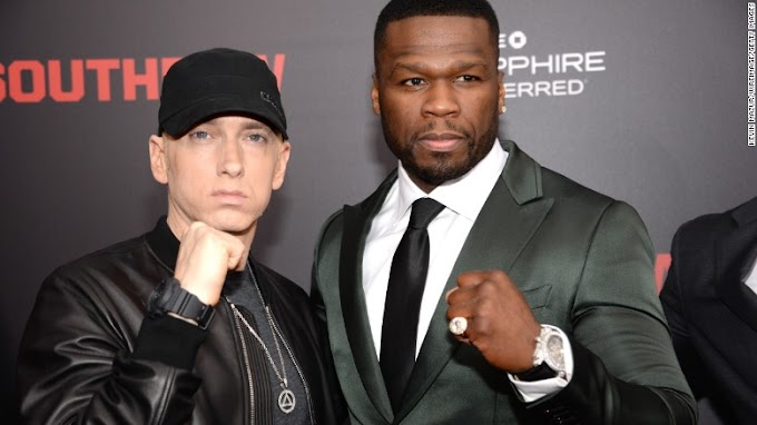 50 Cent made Eminem want to quit