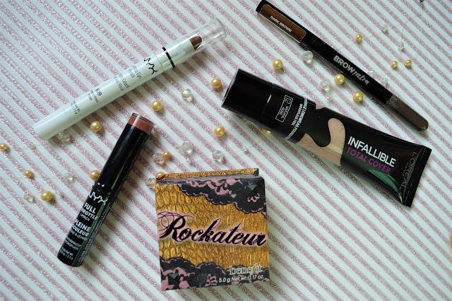 March Beauty Favourites- Benefit, L'Oreal, NYX, Maybelline