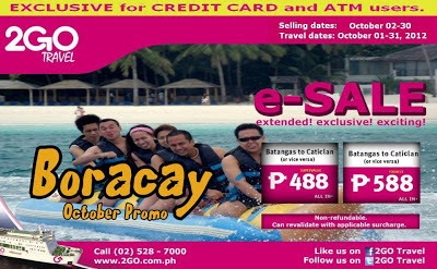 Batangas to Boaracay trip schedule, Batangas to Boracay 2GO, Batangas to Boracay schedule, Batangas to Boracay Trip, Boracay, Hotels, Lifestyle, Philippines, Travel, Boracay Promo