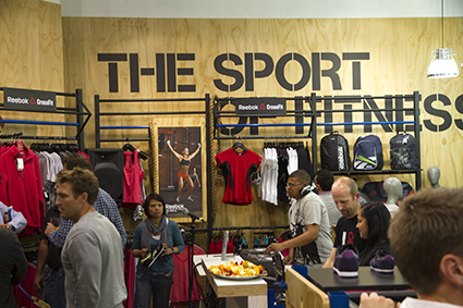 Sports Trader Reports Back Reebok Opened Its First