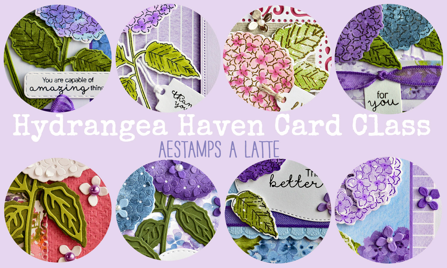 Hydrangea Haven Card Class