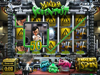play madder scientist free slots
