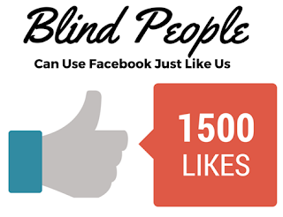 Blind People Can Use FB
