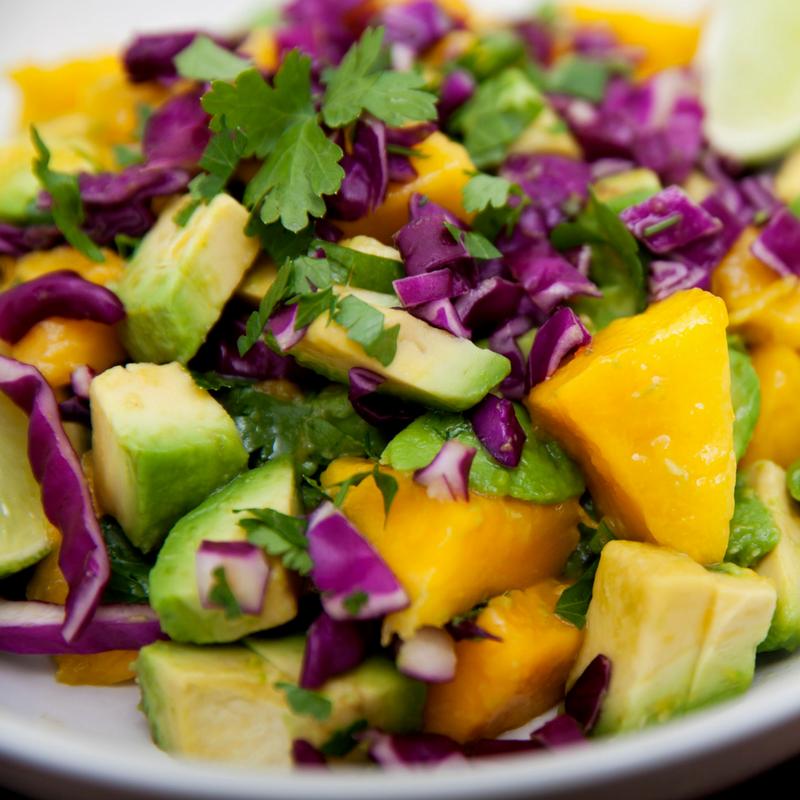 Avocado Mango Salad..