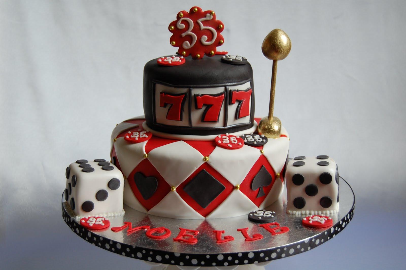 Customised Cakes By Jen Casino Cake