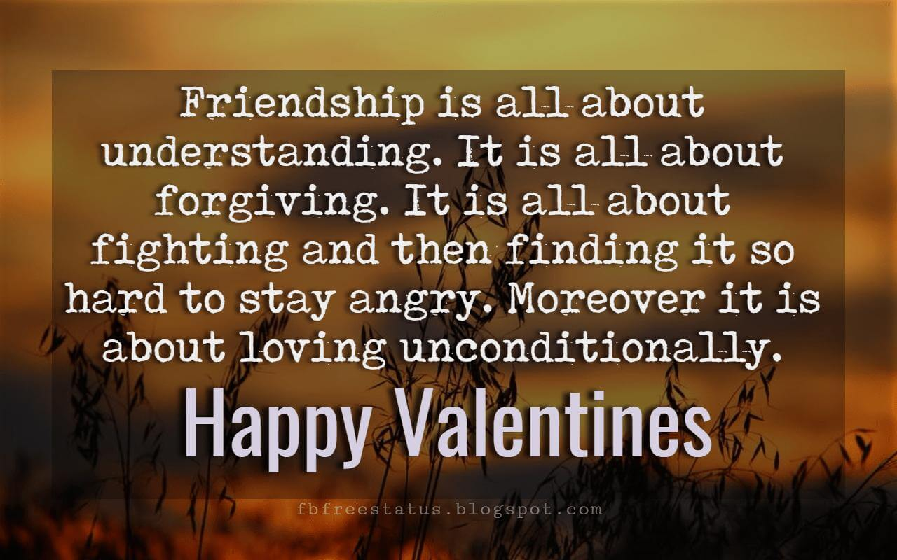 Valentines Day Messages For Friends With Images