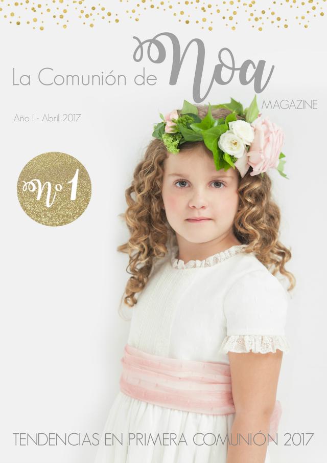revista la comunion de noa magazine - tendencias primera comunion
