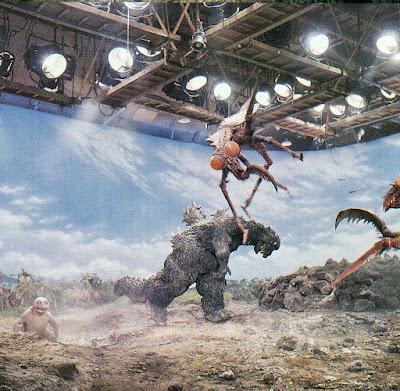 Son of Godzilla detrás de las cámaras