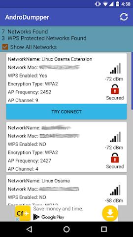 AndroDumpper 3.1.1 APK - Aplikasi Terbaik Mendapatkan Akses Wifi Gratis 1