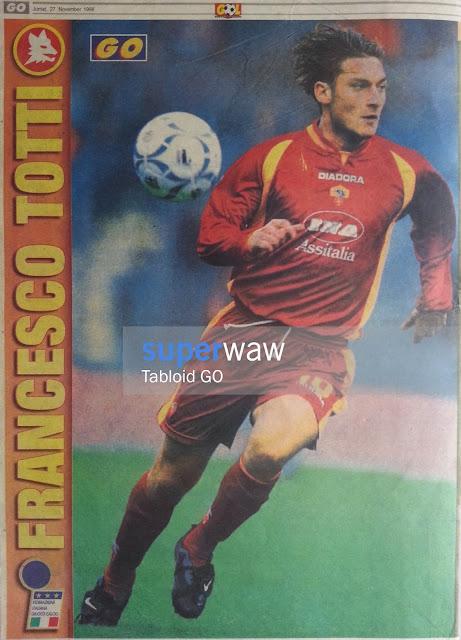 Poster Francesco Totti AS Roma 1997