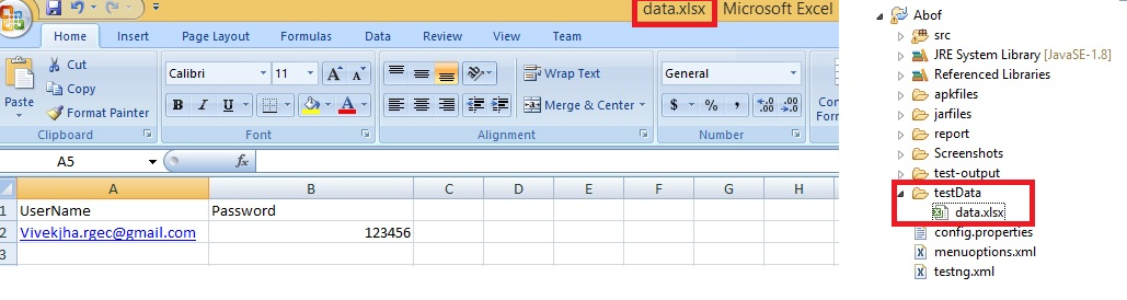 QaMantra: How to read and write from Excel File in Selenium