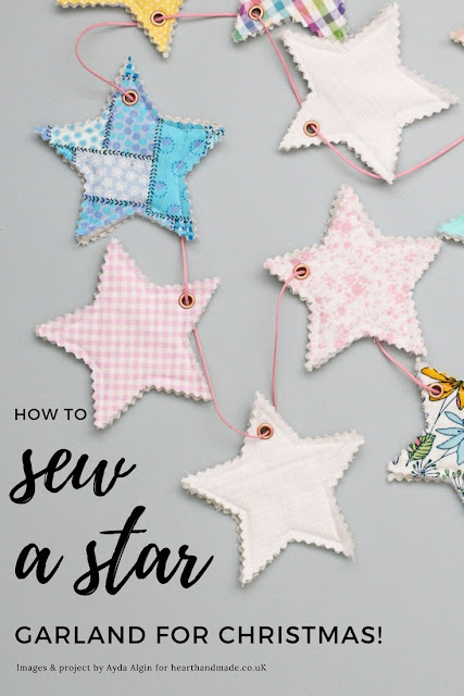 how-to-make-a-star-garland