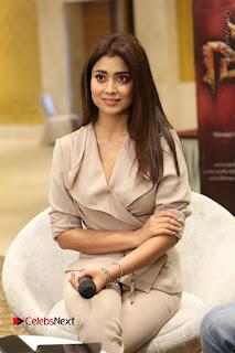 Actress Shriya Saran Stills in Stylish Dress at Gautamiputra Satakarni Team Press Meet  0090.JPG