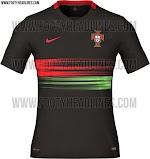 Berita dan Bocoran jersey Portugal away terbaru musim 2015