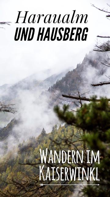 Wanderung am Walchsee | Wandern im Kaiserwinkl | Panorama Hotel - Haraualm - Harauer Spitze - Hausberg | Rundweg Kössen Tirol