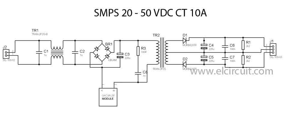 Passivefilter Powersupplycircuit Circuit Diagram Seekiccom