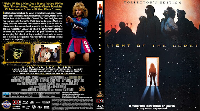 Night Of The Comet Bluray Cover