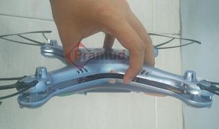 syma indonesia, cara melepas casing drone syma X5HW - pramud.com