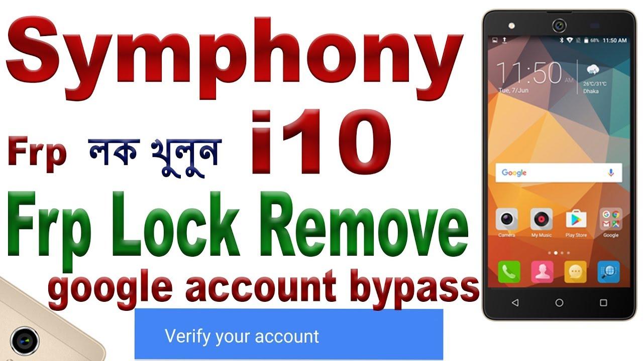 symphony i10 frp bypass apk - Mobile Master