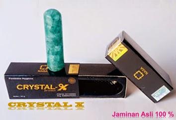 Crystal X aman dan tanpa efek samping