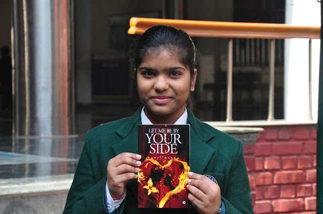 DPS Sushant Lok student becomes one of Gurgaon's youngest girl authors with debut novel 'Let Me By Your Side'