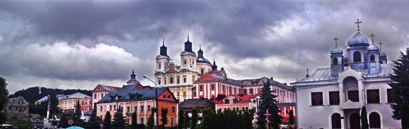 Кременець, центр, панорама міста Кременець