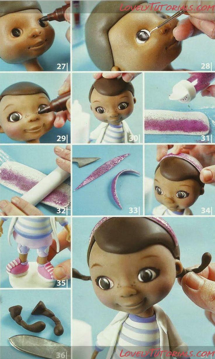 Eu Amo Artesanato Boneca Doutora Brinquedos De Biscuit