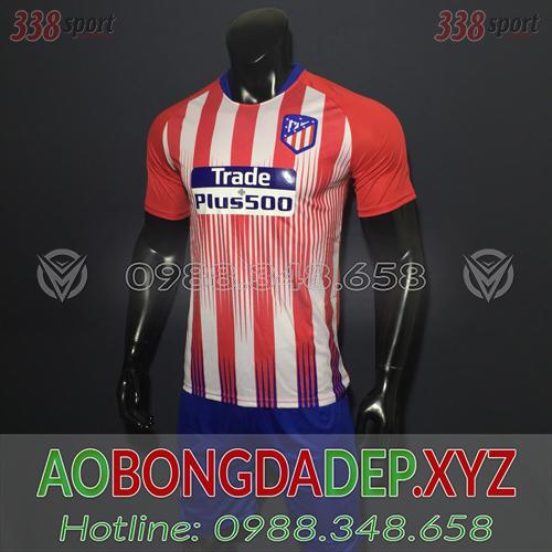 Áo Atlentico 2019 Sân Nhà Màu Đỏ Trắng Đẹp