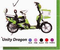 Sepeda Listrik Unity Dragon