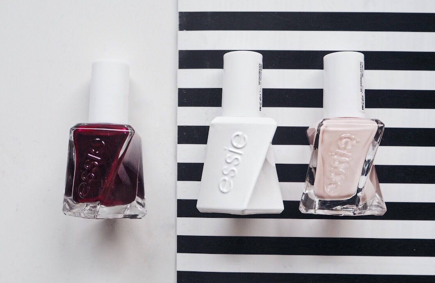 Essie Spool Me Over and Spiked with Style