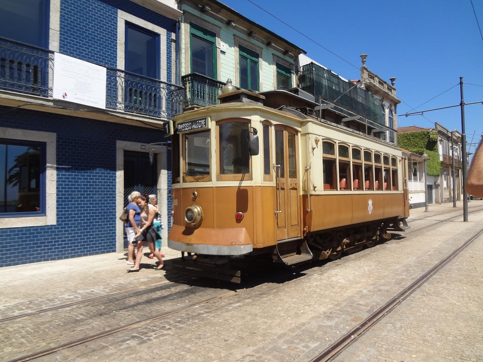 vieux tramway de porto