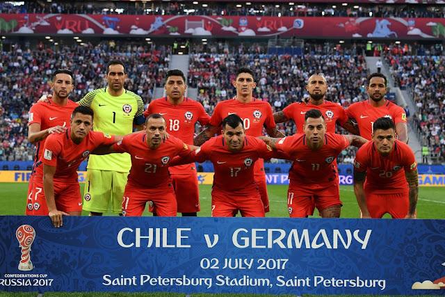 Formación de Chile ante Alemania, Copa Confederaciones 2017, 2 de julio