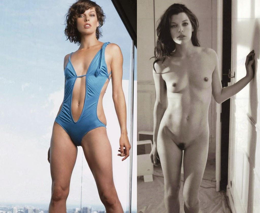 Milla Jovovich Naked