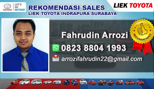 Rekomendasi Sales Toyota Liek Motor Indrapura Surabaya 2018