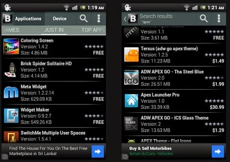 Blackmart Alpha 1.1 APK 2014 latest edition for Android smartphones and tablets download