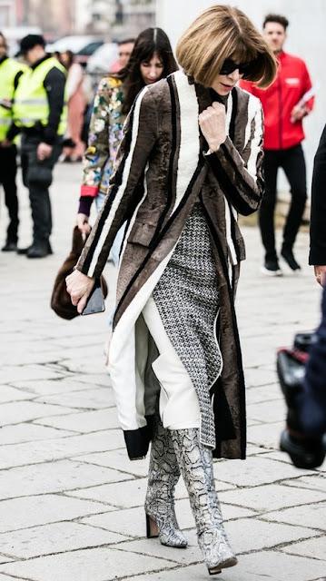 Looks de street style durante as fashion week semanas da moda em Paris, Nova Iorque, Milão