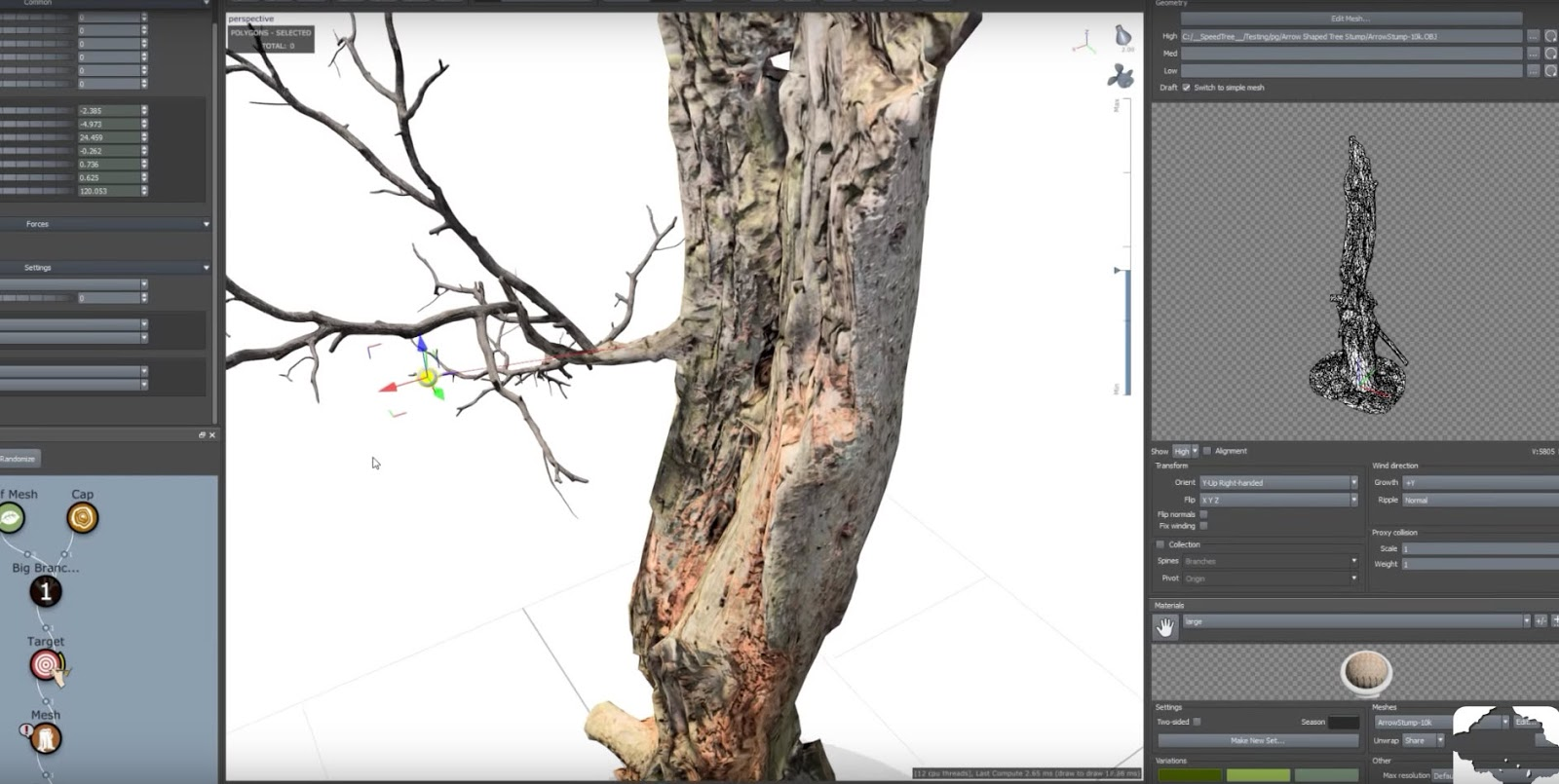 SpeedTree Cinema 8 2 is now available with photogrammetry tools