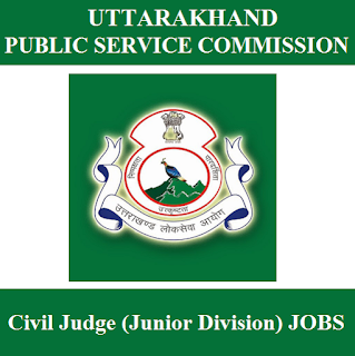 Uttarakhand Public Service Commission, UKPSC, UK, Uttarakhand, PSC, civil judge, Graduation, freejobalert, Sarkari Naukri, Latest Jobs, ukpsc logo