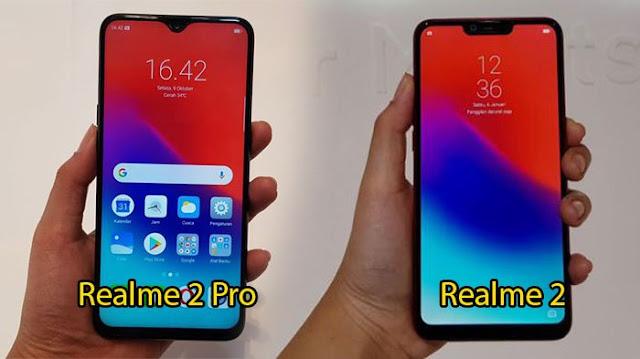اقترب نزول العملاقين  Realme 2 و Realme 2 Pro من شركة اوبو بمواصفات جبارة وسعر اقتصادى