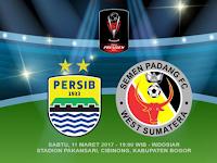 Persib vs Semen Padang, Perebutan Juara 3 Piala Presiden 2017