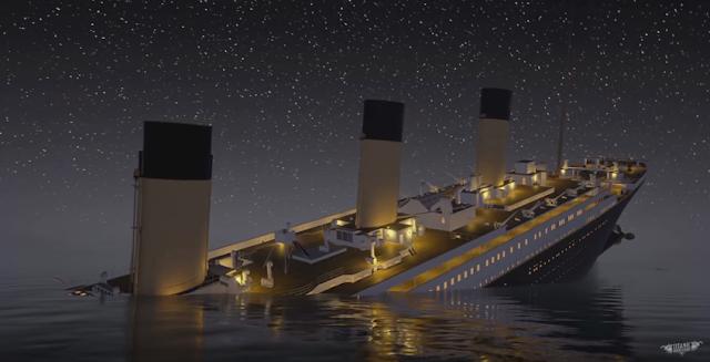 Captura de pantalla del videojuego Titanic: Honor y Gloria