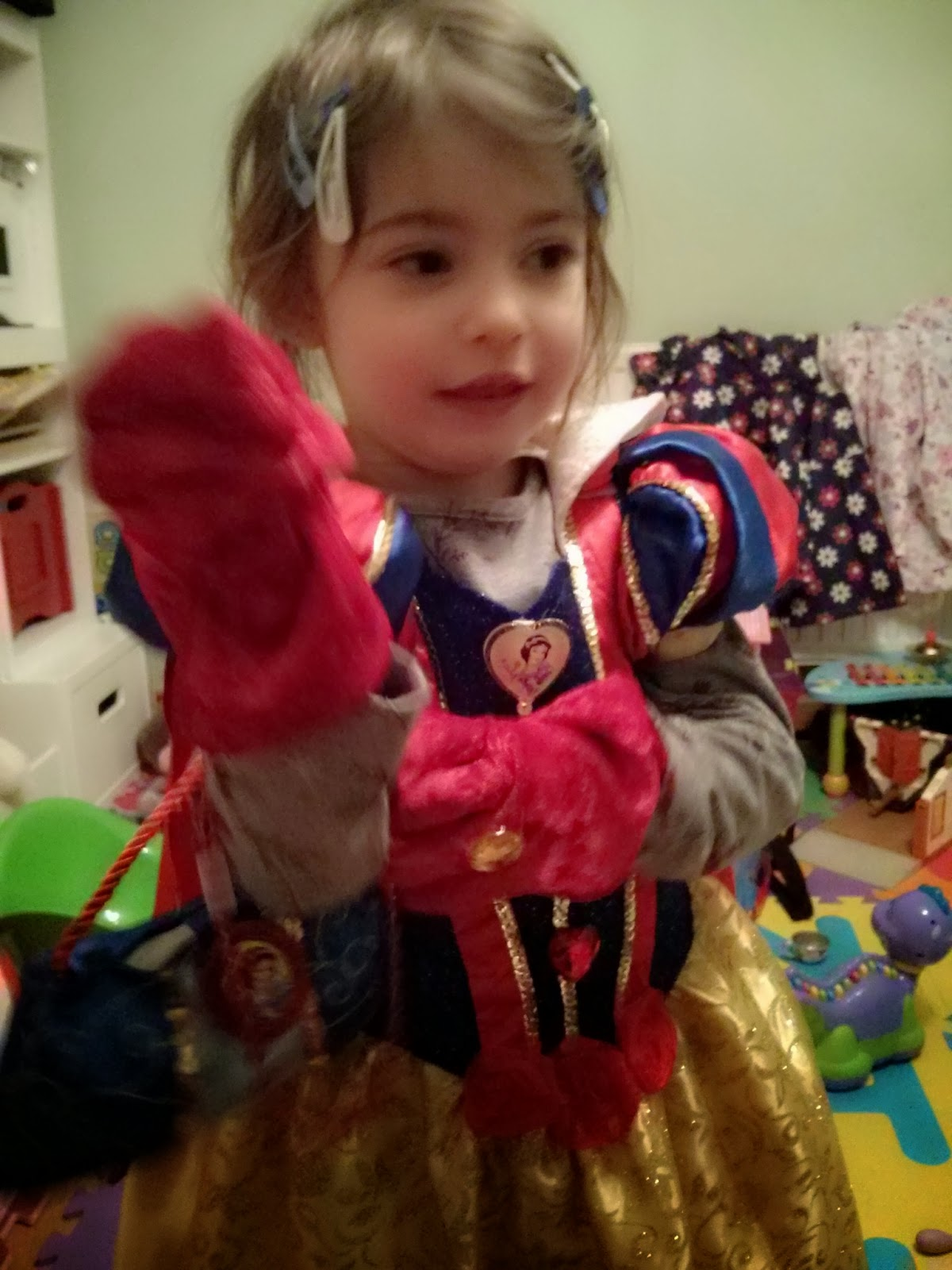 Eldest as snow white