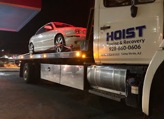 Hoist Towing and Recovery offers 24 hour emergency roadside assistance in Prescott and much more.