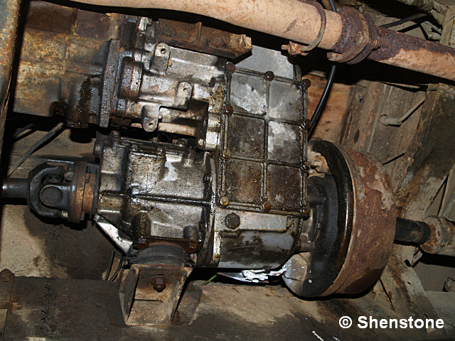 Land Rover Katy Gearbox Removal In Many Painful Steps