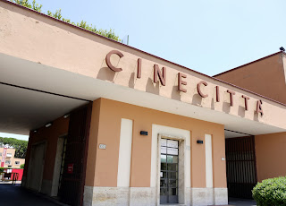 The Cinecittà film studio complex is near Ramazzotti's childhood home in the Rome suburbs