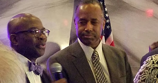 Darnell Sutton of Hollywall Entertainment attends events to honor Ben Carson