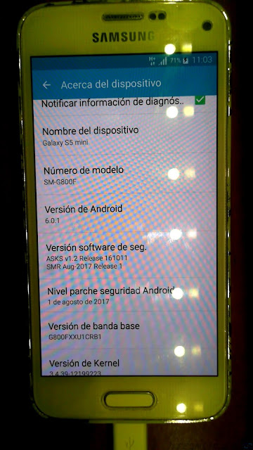 s5 mini stock android 6.0.1 oficial