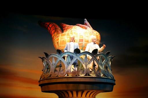 The American Adventure na Disney - Apresentação